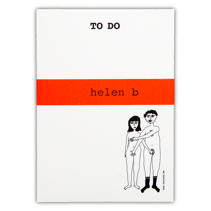 Helen B - Notebook Naked Couple - Cwt Tatws